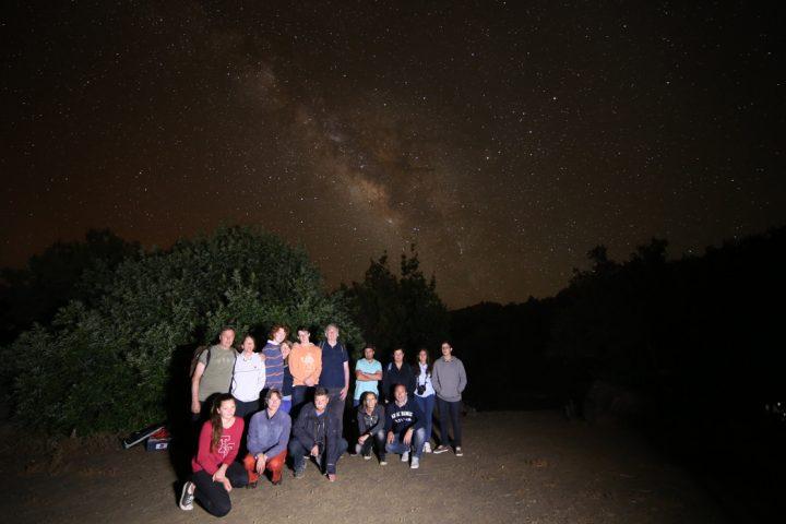 Milky Way in La Palma