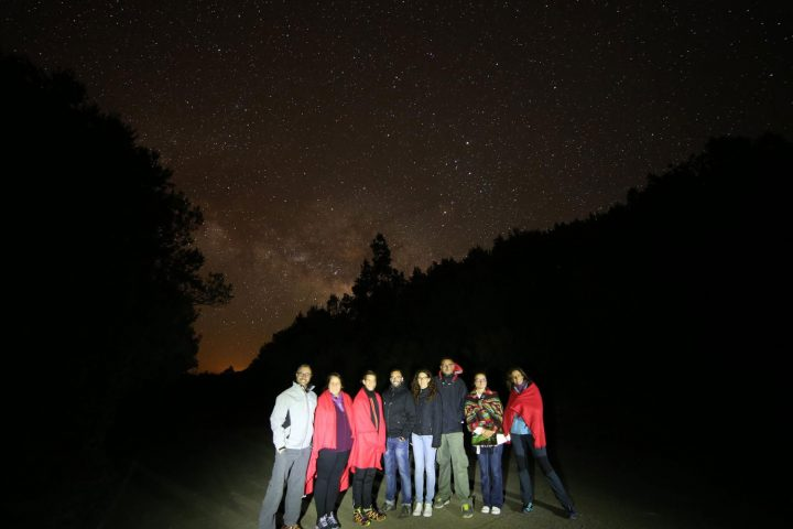 """Rising Milky Way after one of our astronomy tours"""", alt=""""Rising Milky Way after one of our astronomy tours"""
