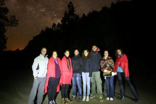 Tour astronómico: Observación de estrellas