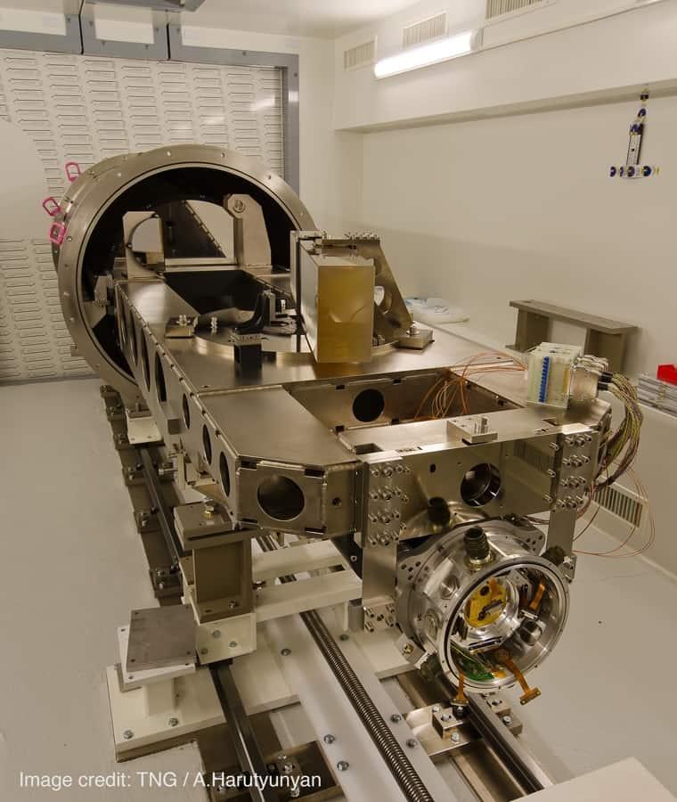 Einer der genauesten Spektrographen der Welt.