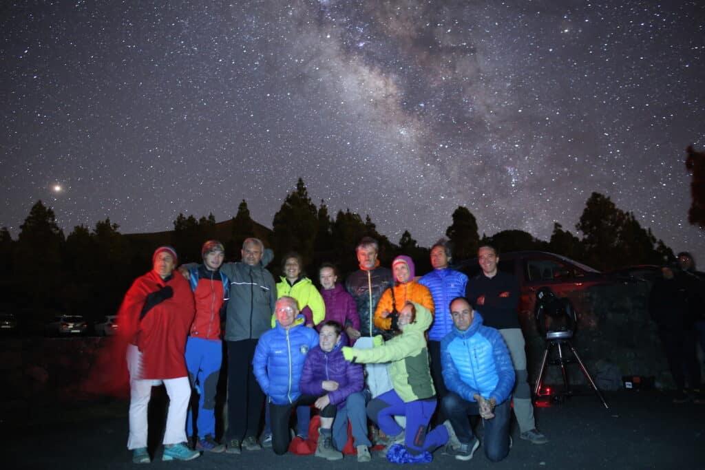 Ver estrellas en la isla de La Palma