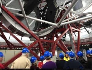 visita al interior del Gran Telescopio de Canarias, Observatorio del Roque de Los Muchachos en La Palma
