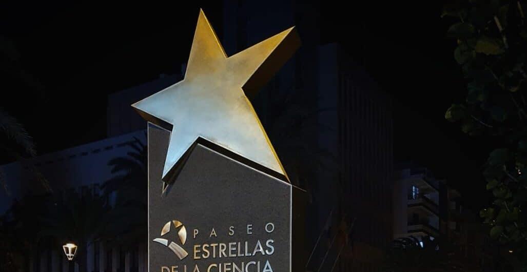 Icono Paseo de las Estrellas de Ciencia en La Palma