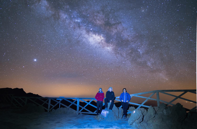 Sternbeobachtung, Sternwarte von La Palma