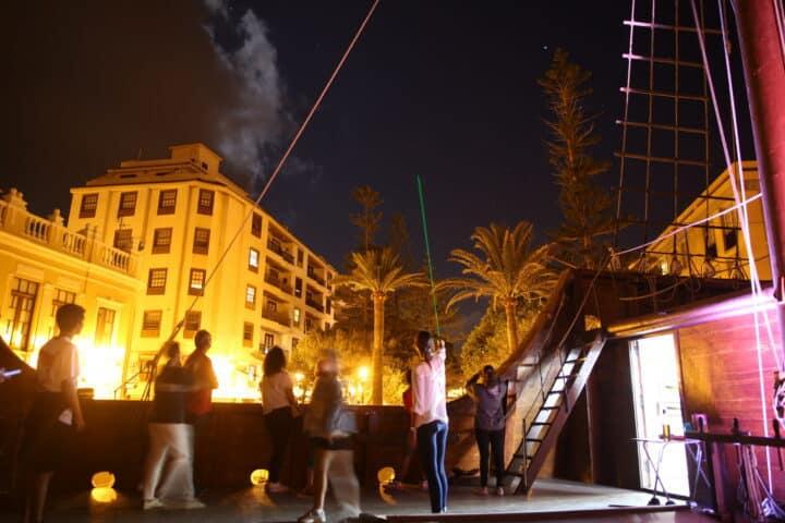 Magallans Tour, stargazing from Barco de La Virgen, La Palma