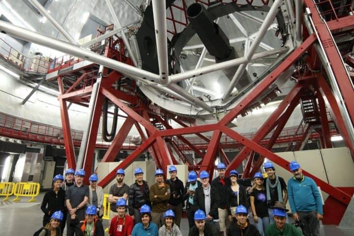 Visita al Gran Telescopio de Canarias, Observatorio del Roque de Los Muchachos, La Palma