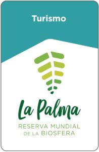 Logo de La Reserva de la Biosfera, AstroLaPalma