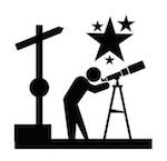 Mirador astronómico estrellas La Palma