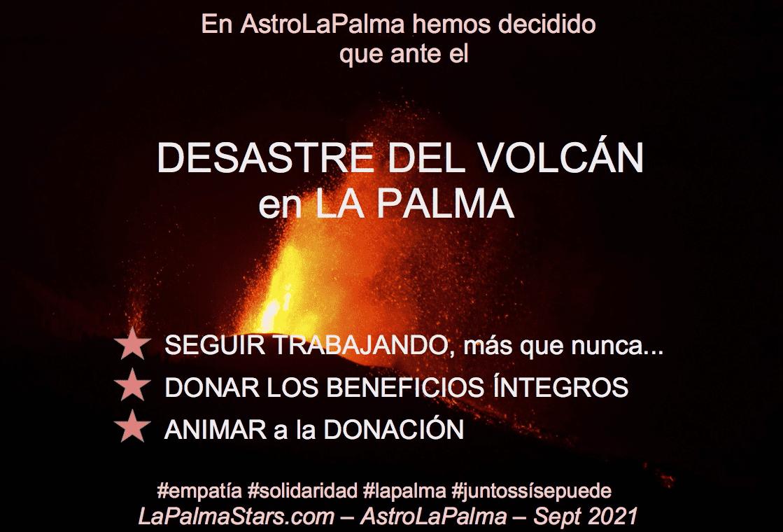 Seguiremos trabajando a pesar del volcan en La Palma